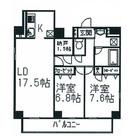 アルブル代々木八幡 / 801 部屋画像1