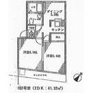 VISTA富ヶ谷 / 102 部屋画像1