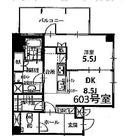 プラザ鷹番 / 603 部屋画像1