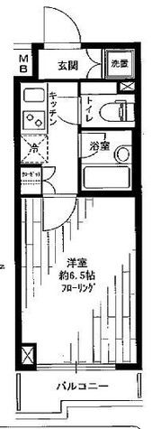 ルーブル練馬弐番館 / 316 部屋画像1