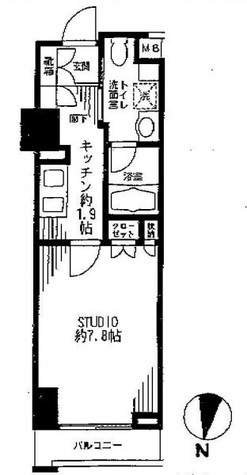Feel A 渋谷(フィールエー渋谷) / 707 部屋画像1