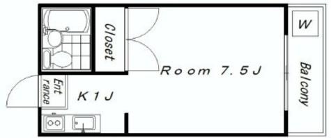 レ・ステュディオ / 2階 部屋画像1