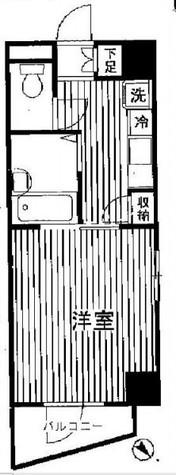 プレール学芸大学弐番館 / 604 部屋画像1