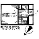 山王ヒルズ / 202 部屋画像1