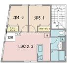 Soavita三軒茶屋 / 101 部屋画像1