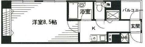 湯島台レジデンス / 703 部屋画像1