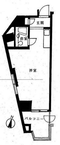 中銀日本橋マンション / 910 部屋画像1